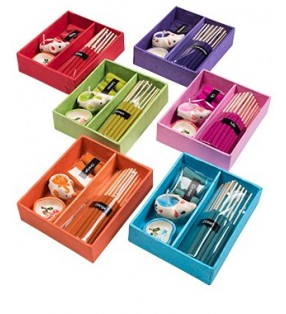Fair Trade Incense Gift Box Set Incense Sticks Candle and Holder