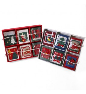 Fair Trade Hand Crafted Christmas Gift Tags