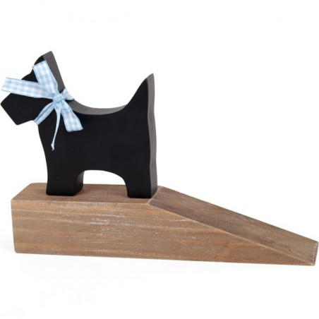 Windhorse Ethically Sourced Scotty Dog Driftwood Door Stop.