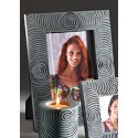 Fair Trade Grey and Black Palewa Soapstone Picture Frame Large