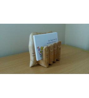 Hand Design Business Card Holder