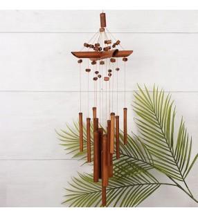 Beautiful Ethical Handmade Bamboo Beaded Windchime